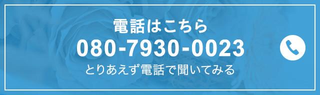電話はこちら 080-7930-0023